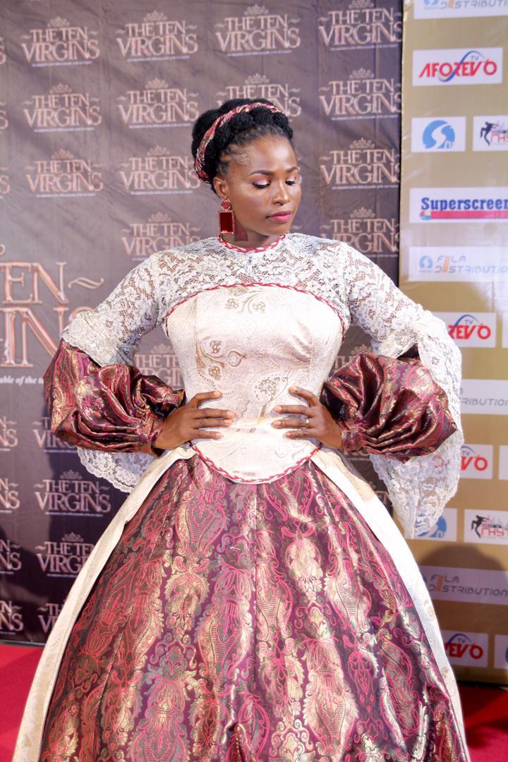 "Stephanie Linus, Kate Henshaw, Kiki Omeili attend Premiere of Blessing Egbe's ""The Ten Virgins"""
