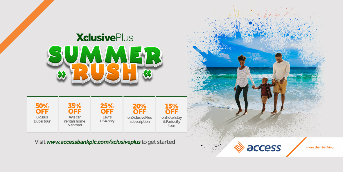 Access Bank Customers can now Enjoy this 'XclusivePlus' Luxury Offer