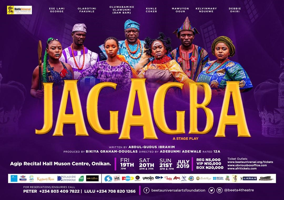 "Bam Bam, Kunle Coker, Mawuyon Ogun to star in ""Jagagba"", an Award-winning Play by BUAF 