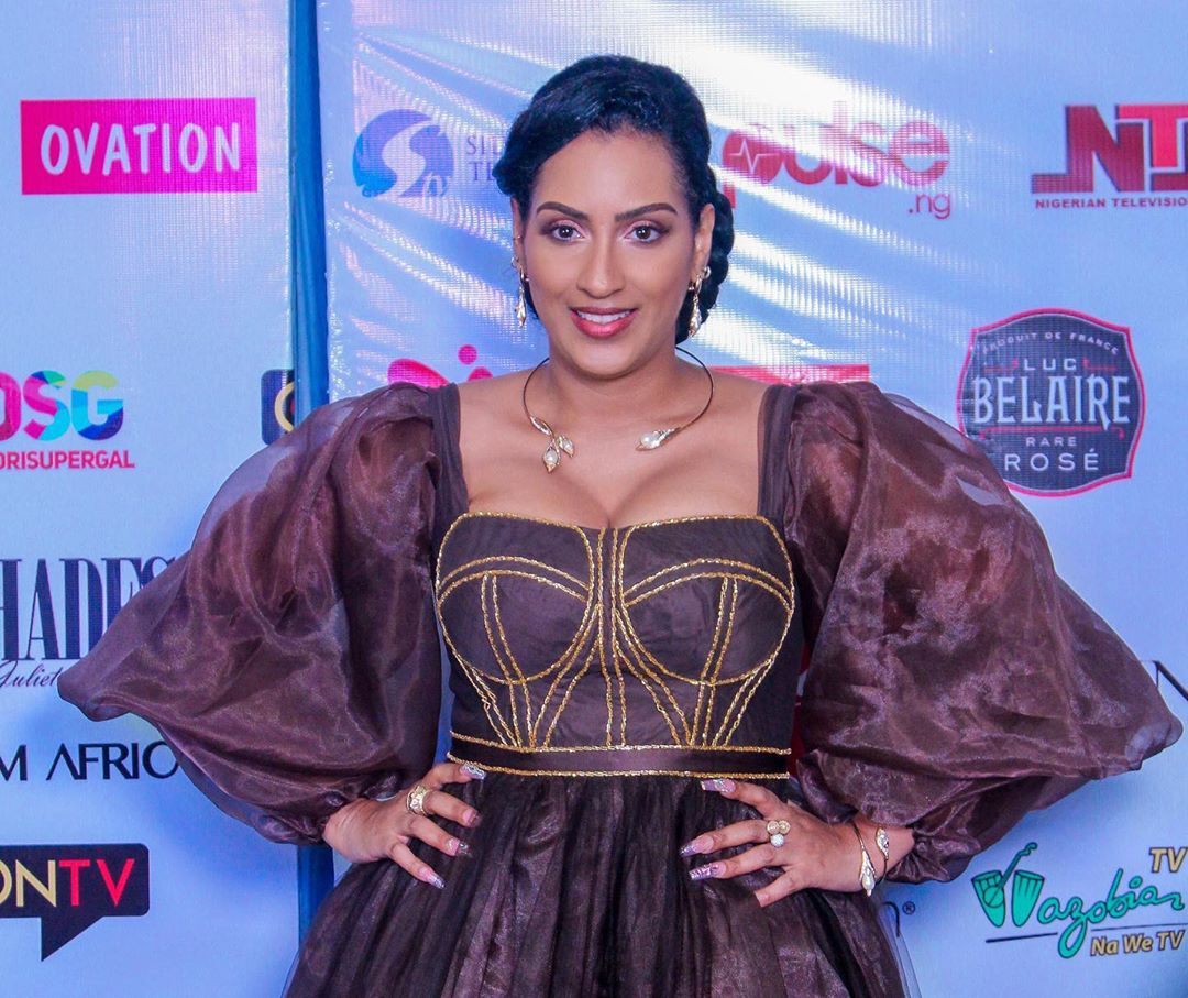 """Check Out Juliet Ibrahim's Stylish Look for Her """"A Toast To Life"""" Book Launch"""