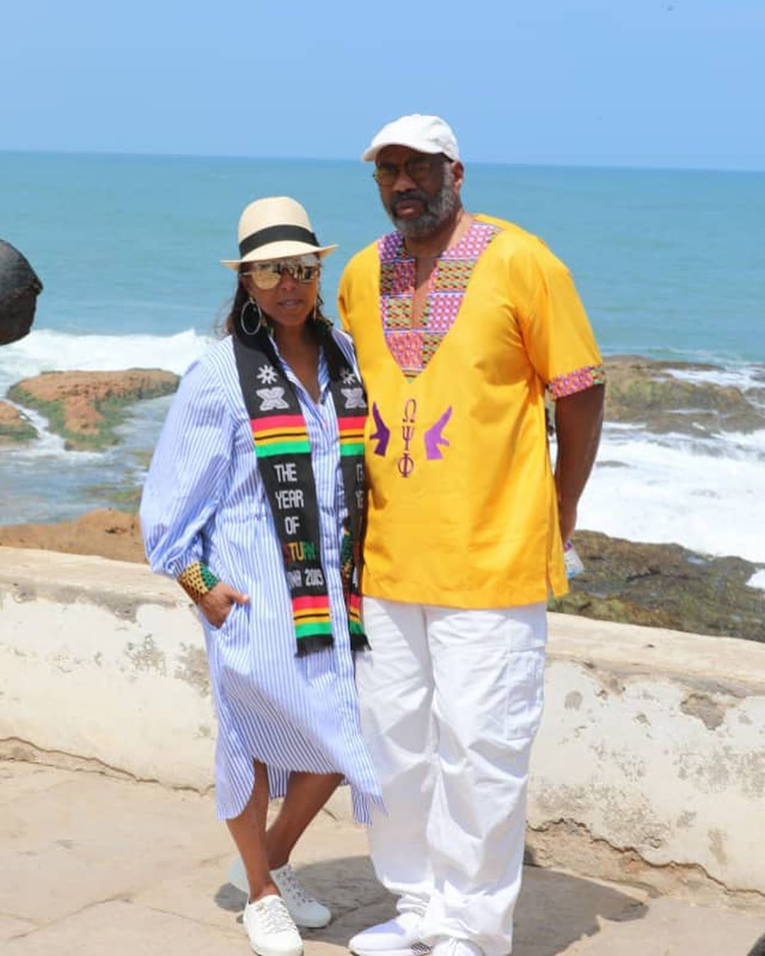 """I could feel my ancestors on me"" – Steve Harvey's Visit to the Ghana Slave Castles was Emotional"