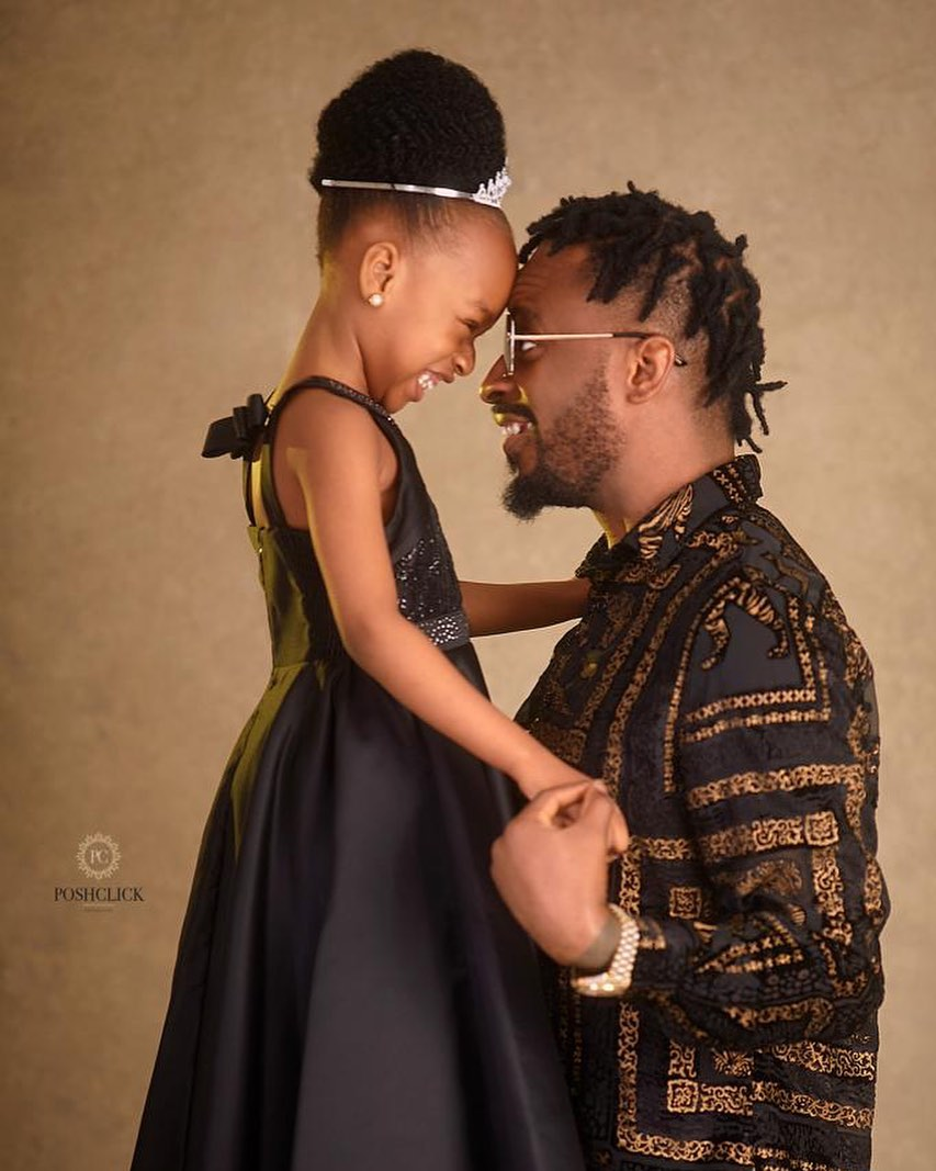 9ice has the Sweetest Message for his Daughter Michelle on her Birthday