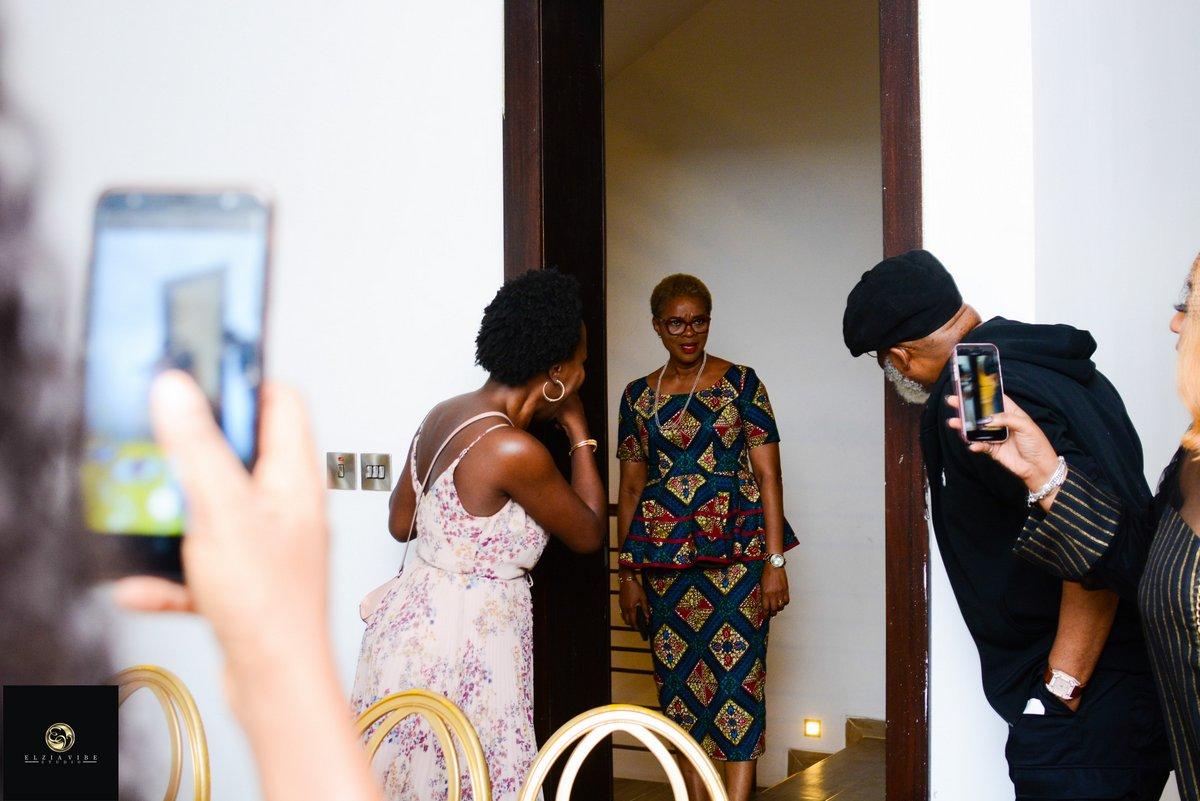 Every Must-See Photo from Adesuwa Onyenokwe's Surprise Birthday Brunch with Omotola Jalade-Ekeinde, Waje, Omawumi