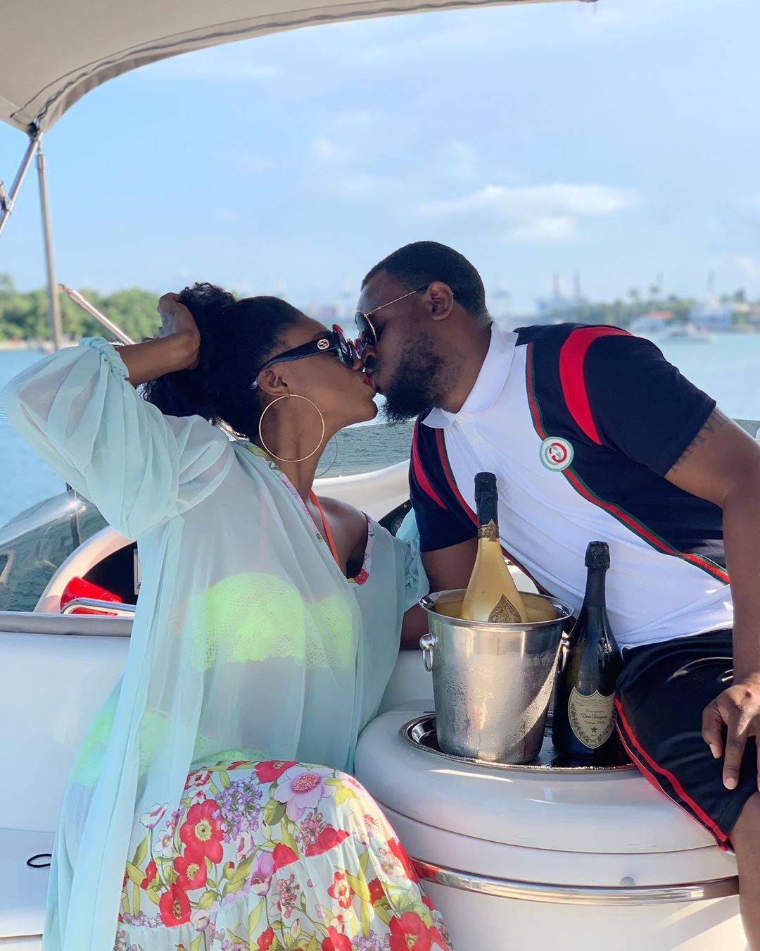 Becca & Hubby Tobi Sanni Daniel have Only Sweet Words for Each Other on their 1st Wedding Anniversary