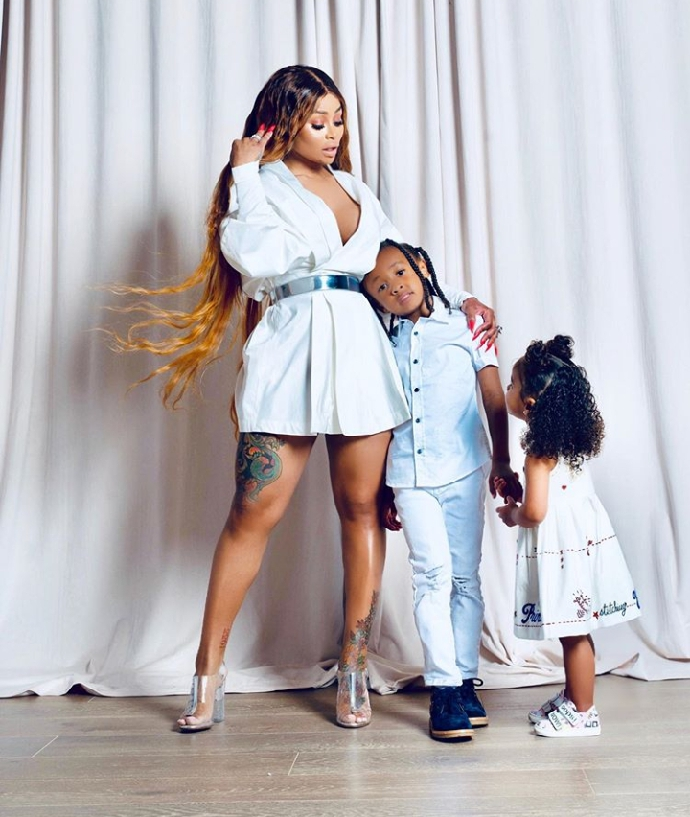 These Photos of Blac Chyna and Her Kids are so Adorable