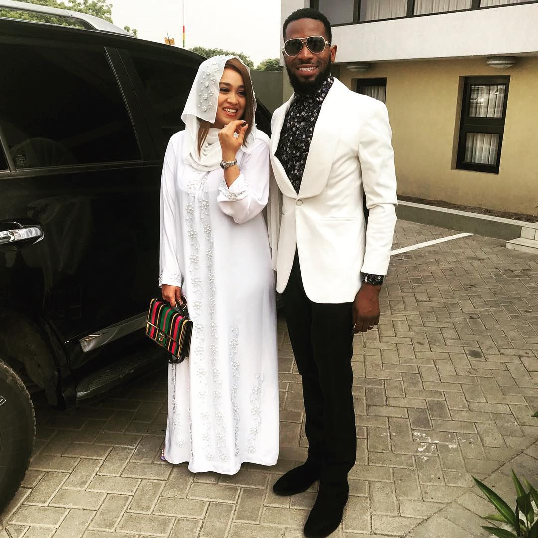 Great News! D'banj & Wife Lineo are Expecting a Child