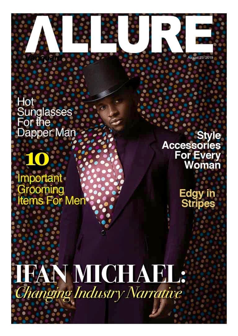 """""""Changing Industry Narrative""""! Ifan Micheal covers Vanguard Allure's Latest Issue"""