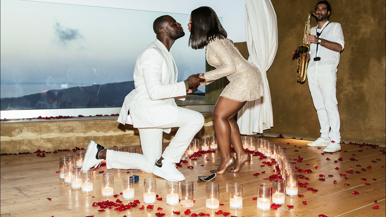 Watching this Proposal Video will make You Love Jackie Aina & Fiancé Denis Asamoah More