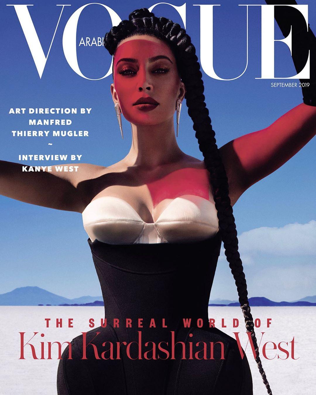 Kim Kardashian Covers Vogue Arabia's Latest Issue