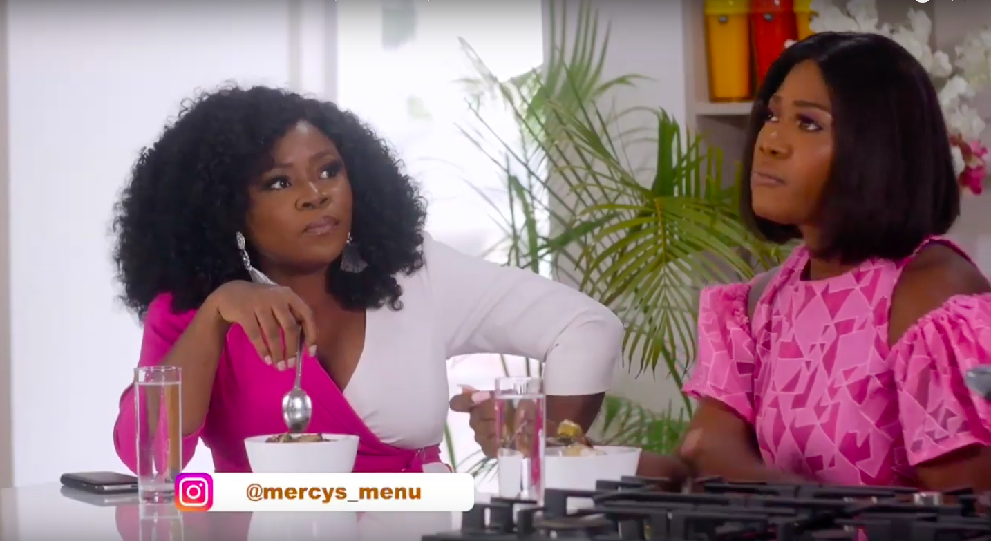 "From the In-Laws to how Motherhood has Changed Her… WATCH Omawumi on Episode 4 of ""Mercy's Menu"""