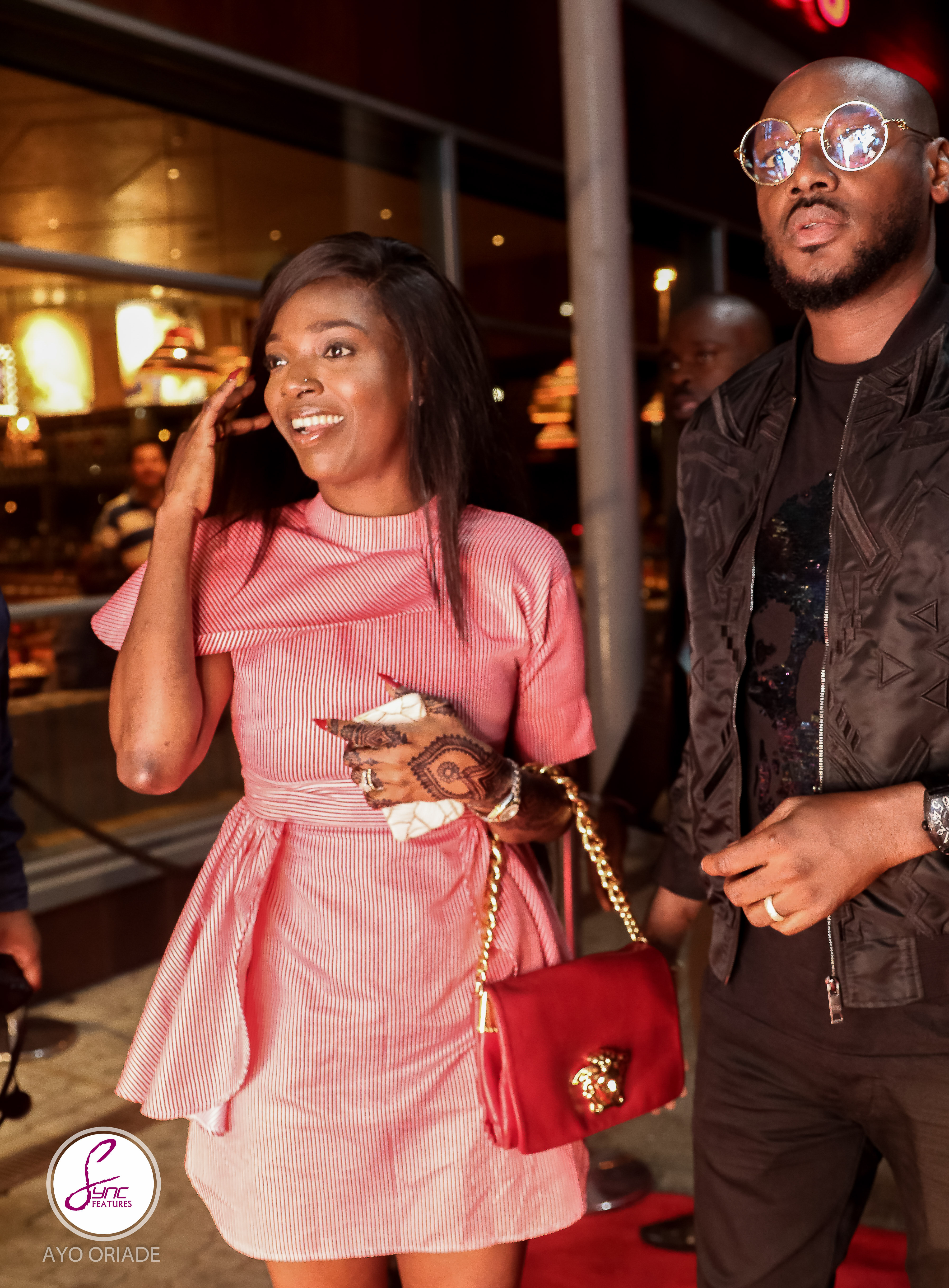 "Date Night! 2Baba & Annie Idibia Attend ""Power of 1"" UK Premiere"