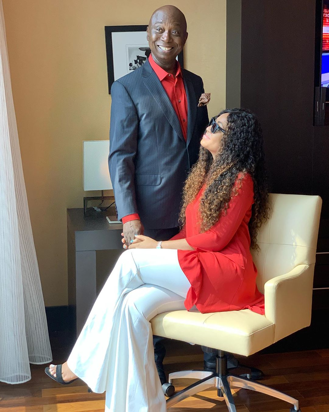 Check out the Photos of Regina Daniels & Ned Nwoko that Got People's Attention