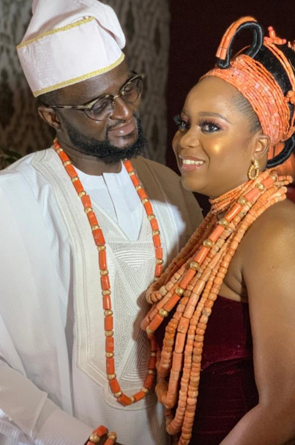 First Photos from Tee-Y Mix & Ivie's Traditional Wedding Ceremony
