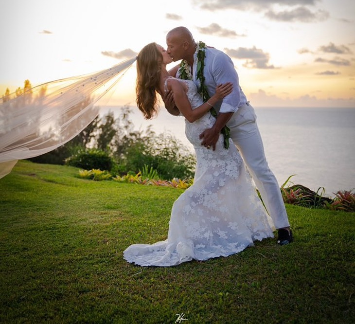 The Rock Marries Singer Lauren Hashian In Hawaii
