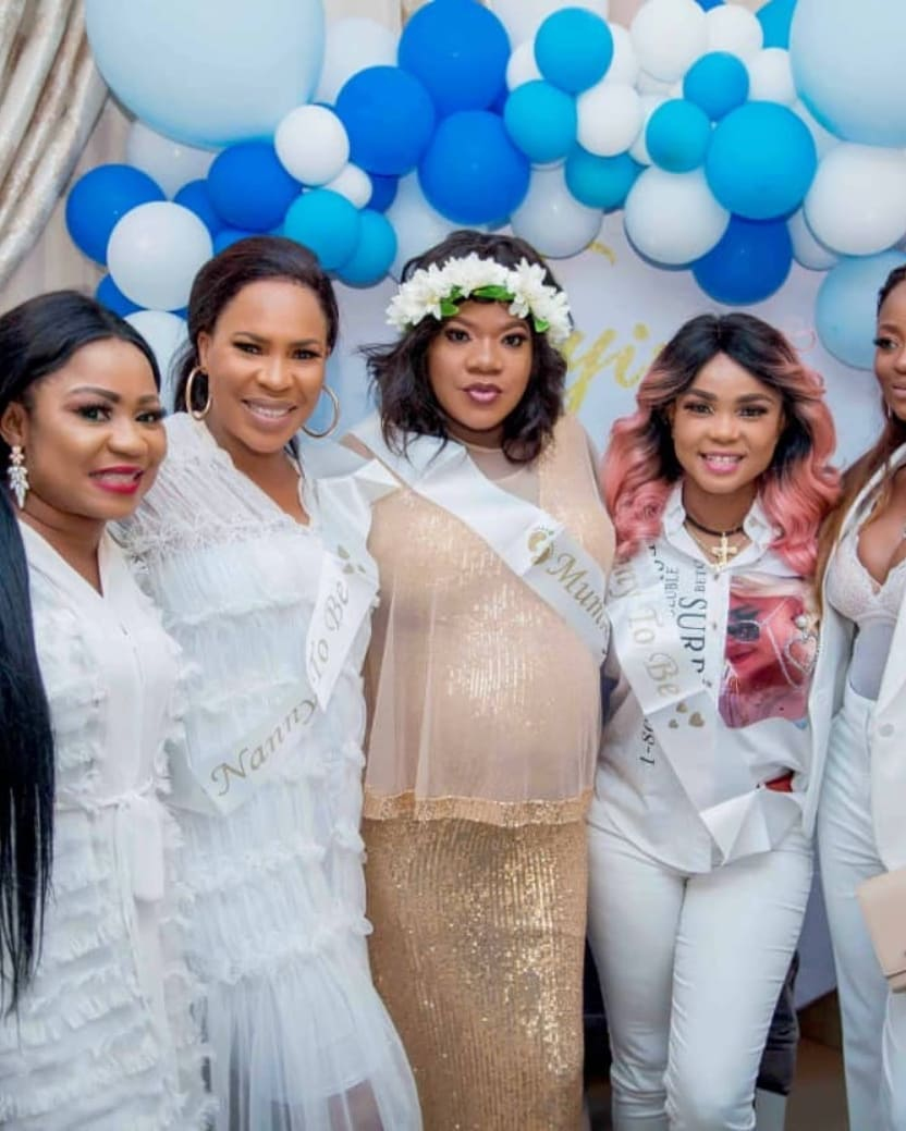 Here's What Went Down at Toyin Abraham's Baby Shower | WATCH