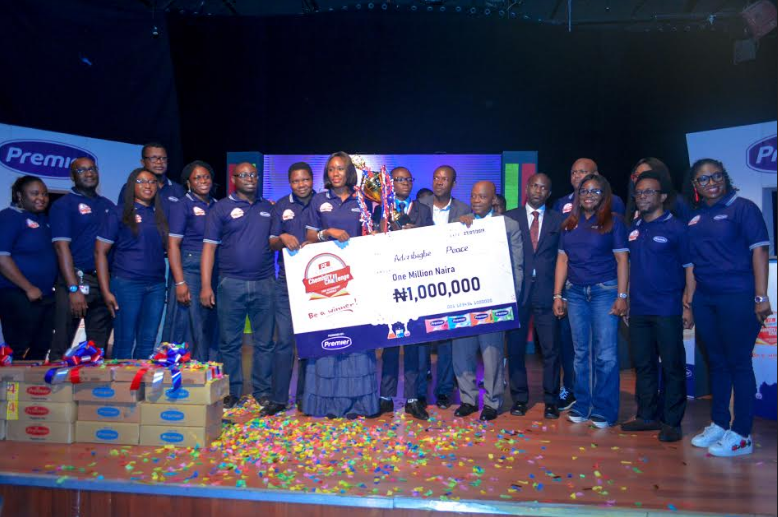 Aderibigbe Eniola Peace wins the 2019 PZ Cussons Chemistry Challenge 🙌
