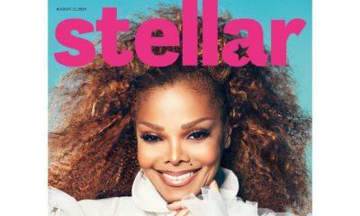 Janet Jackson on Stellar Magazine