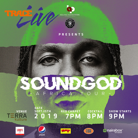 """Runtown Kicks Off """"Soundgod Africa Tour"""" with Special TRACE Live Edition"""
