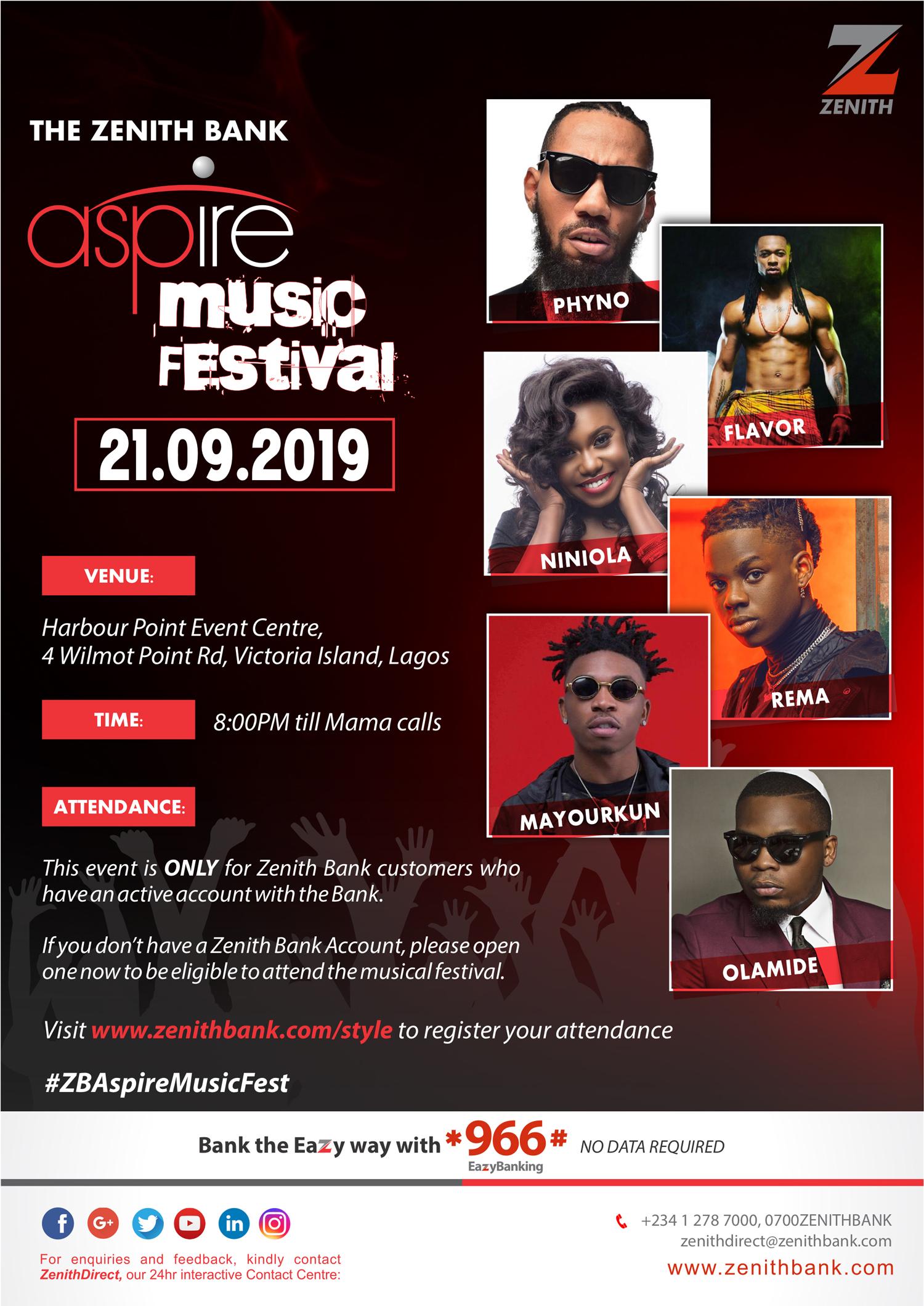 Zenith Bank Aspire Music Festival