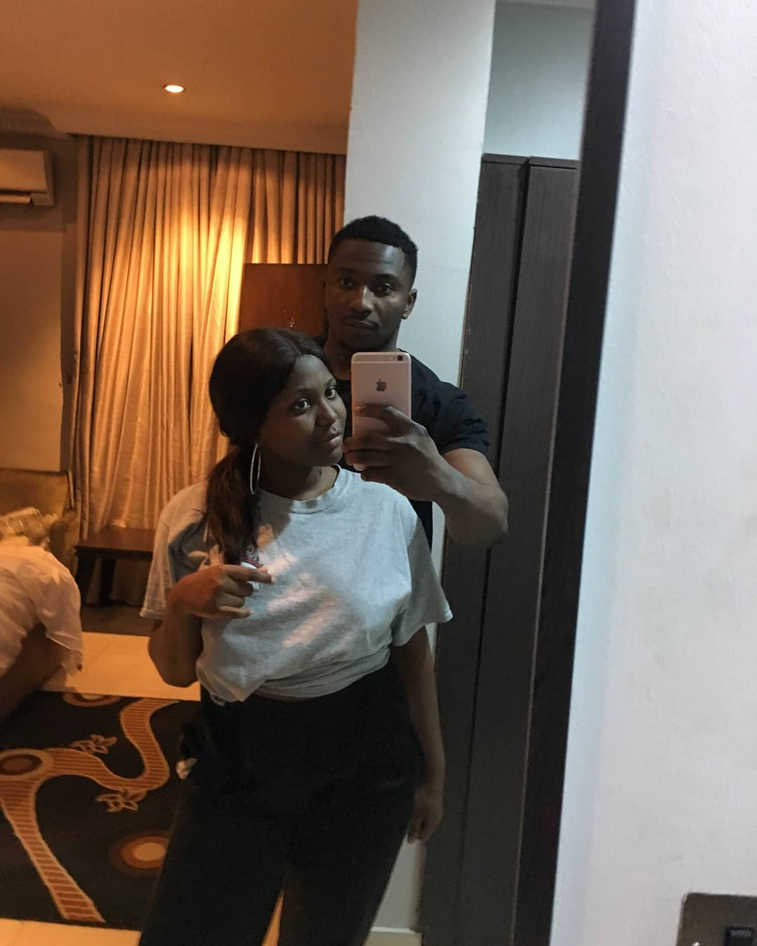 WATCH Romantic Moment #BBNaija's Sir Dee reunited with his Love Wanni