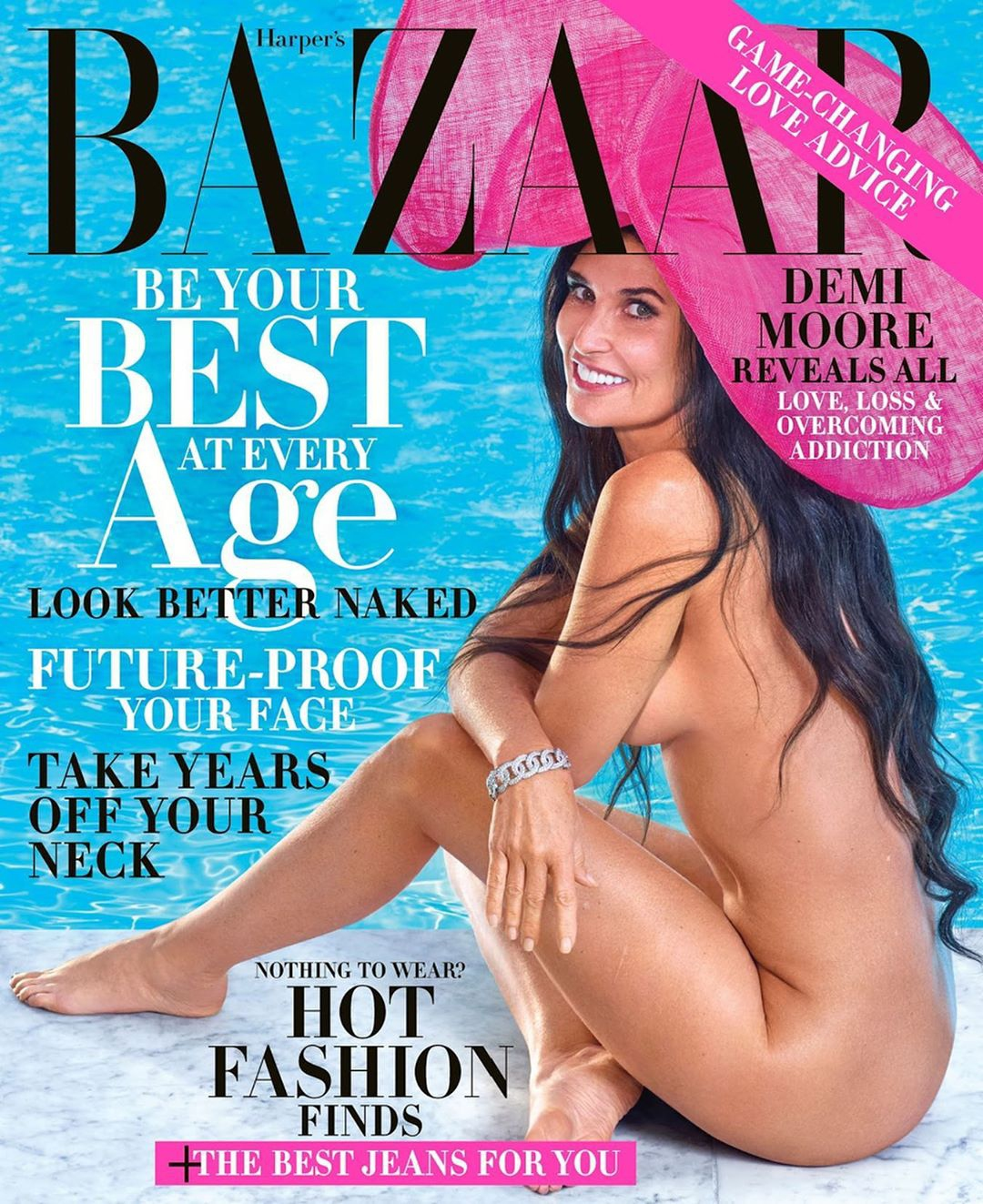 Demi Moore Opens Up on Love, Loss & Overcoming Addiction as She Covers Harper's Bazaar's Latest Issue