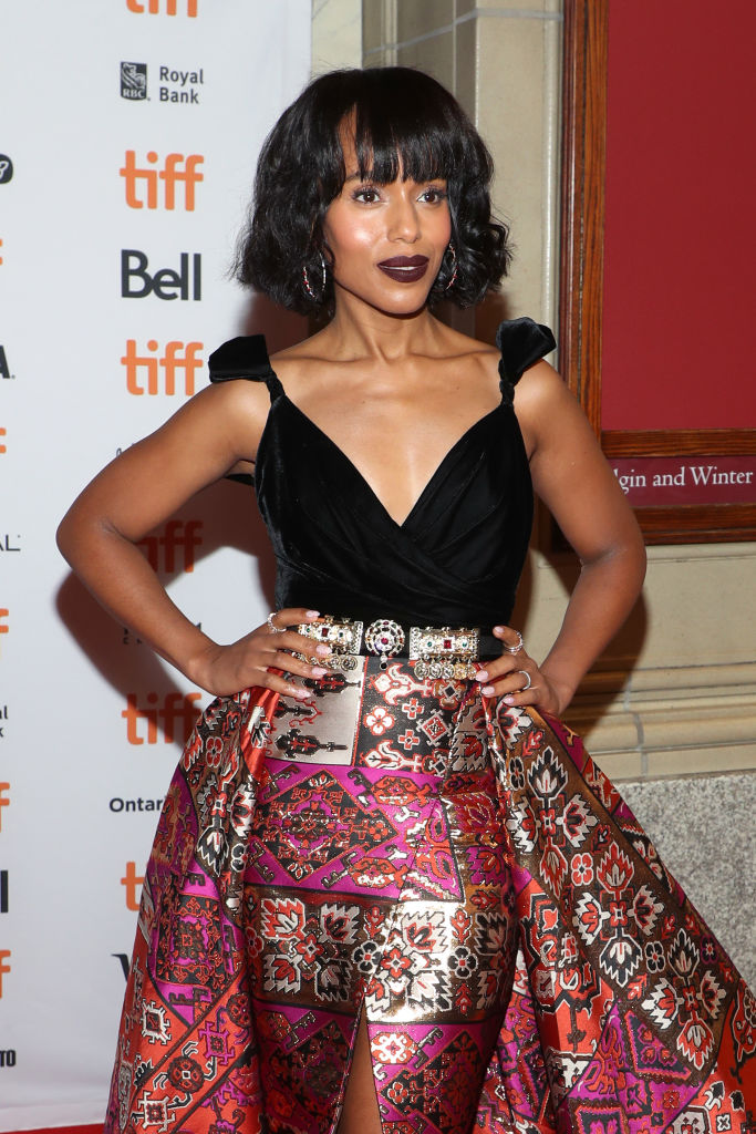 "GettyImages 1174316791 - SKerry Washington is All Shades of Gorgeous at ""American Son"" Premiere 