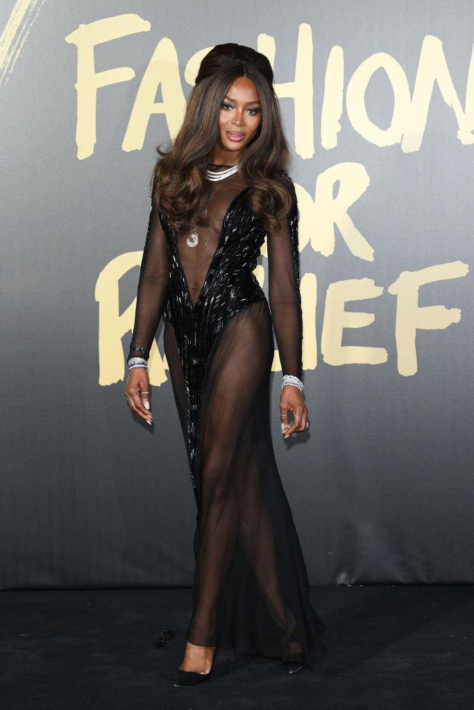 Tiwa Savage walked the Runway for Naomi Campbell's 'Fashion For Relief' Event in London | Here Are All The Highlights