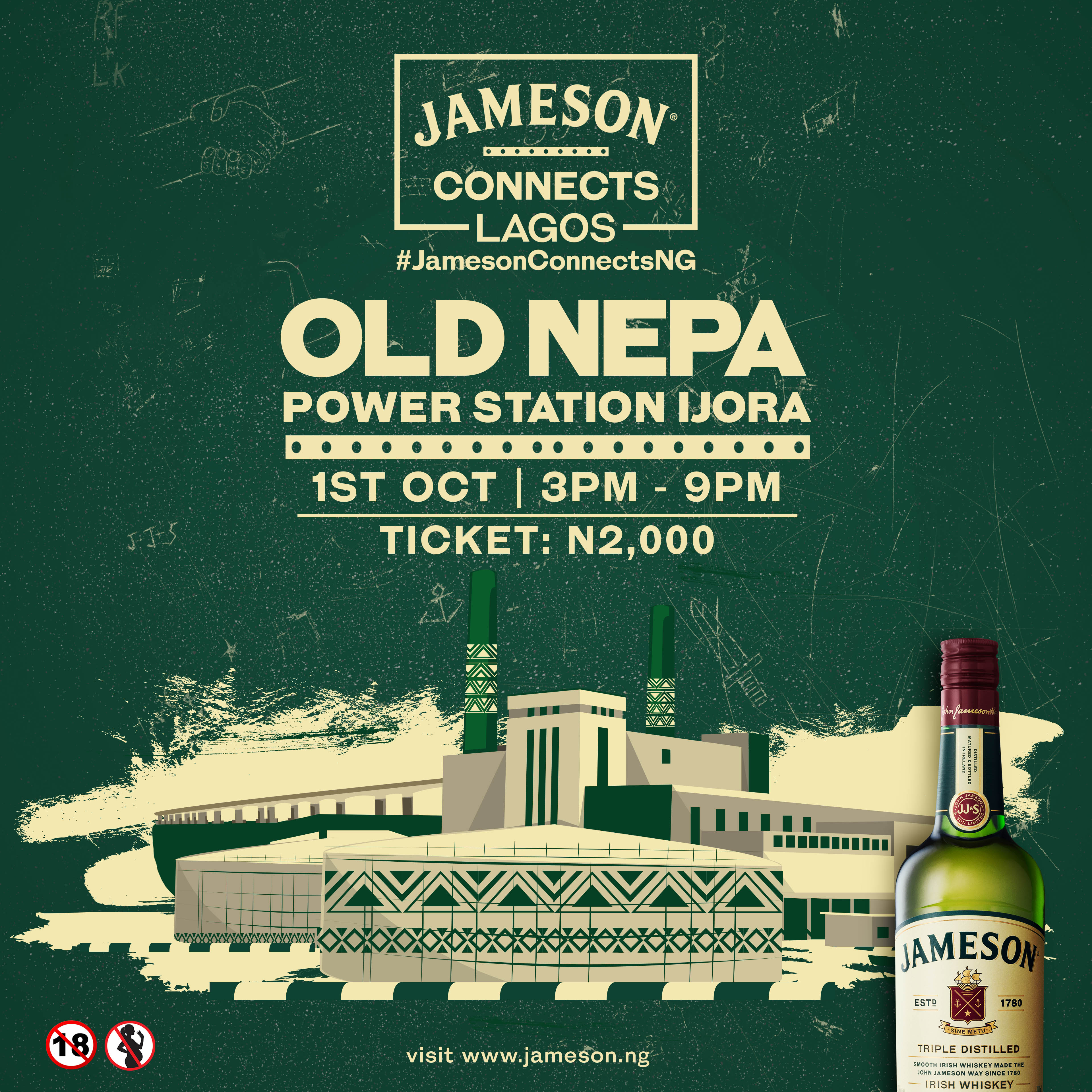 Experience Fashion, Music, Interactive Board & Video Games, Tasty Gourmet Food at Jameson Connects | October 1st