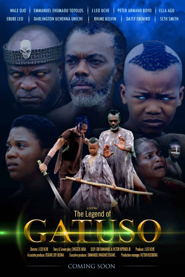 "Watch Trailer for ""The Legend of Gatuso"" starring Wale Ojo, Emmanuel Ehumadu, Peter Armand, Ella Agu"