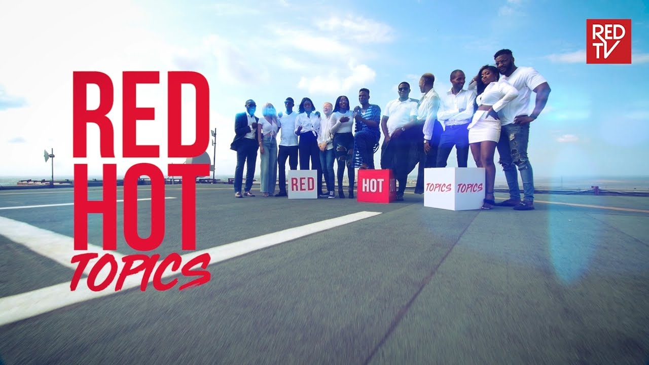 "We've got our eye on this Exciting New Show | Watch the Trailer for Red TV's ""Red Hot Topics"""