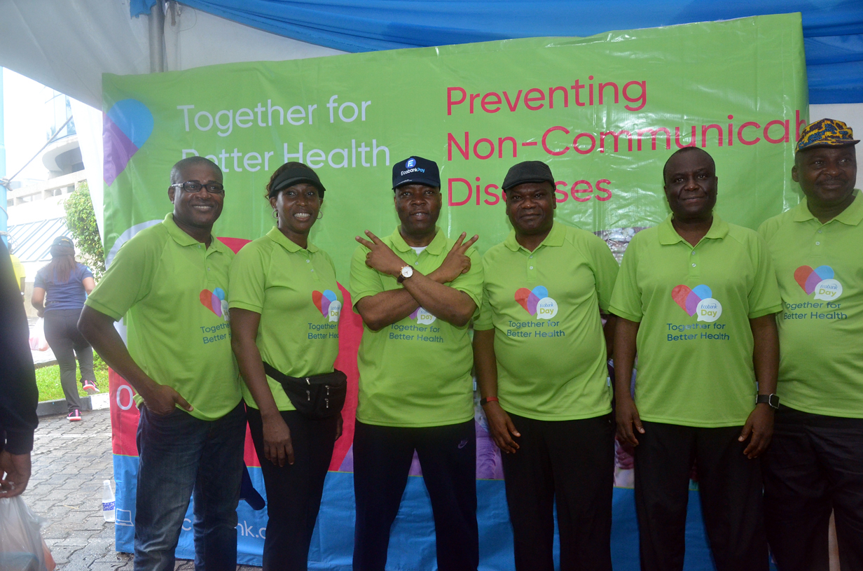 """Ecobank Day 2019 Focuses on Cancer Awareness with the Theme """"Preventing Non-Communicable Diseases"""""""