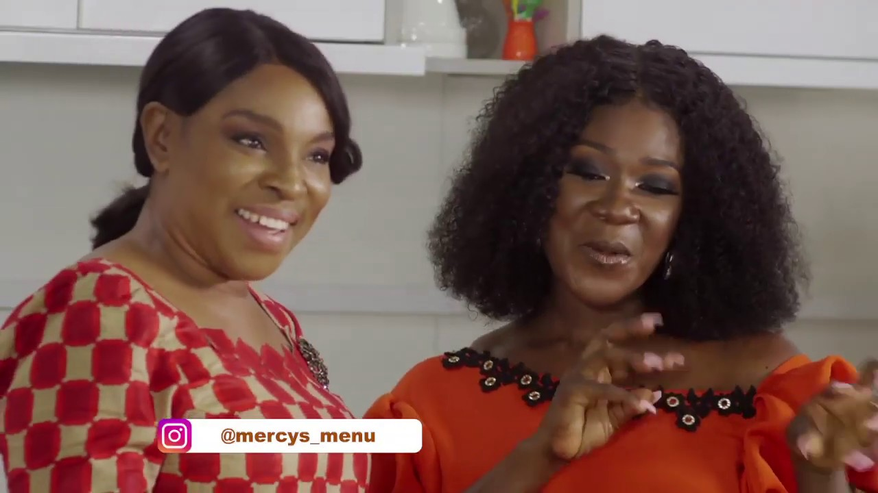"Nollywood Veteran Liz Benson Ameye talks Marriage, Sex & the Girl Child with Mercy Johnson Okojie in Episode 12 of ""Mercy's Menu"" 