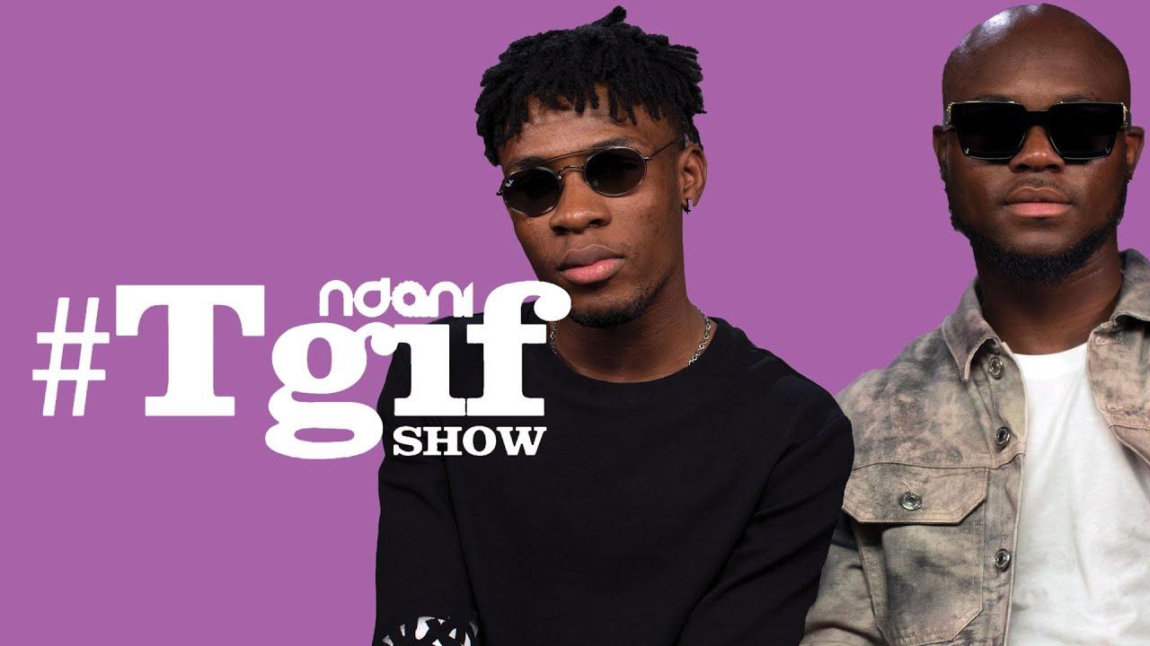 WATCH Joeboy & King Promise take On the Ndani TGIF Show Crew
