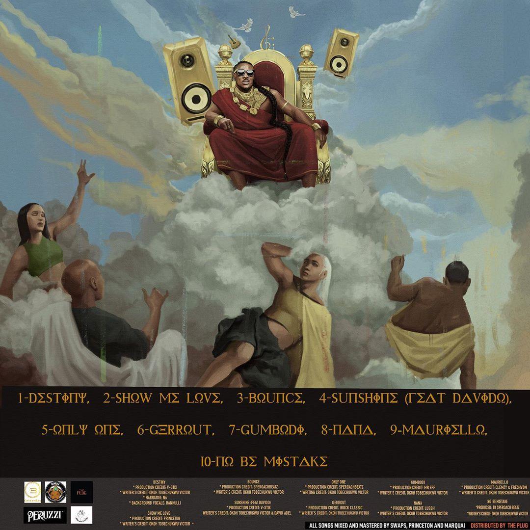 "Peruzzi Unveils Art & Tracklist for Debut Album ""Huncho Vibes"""