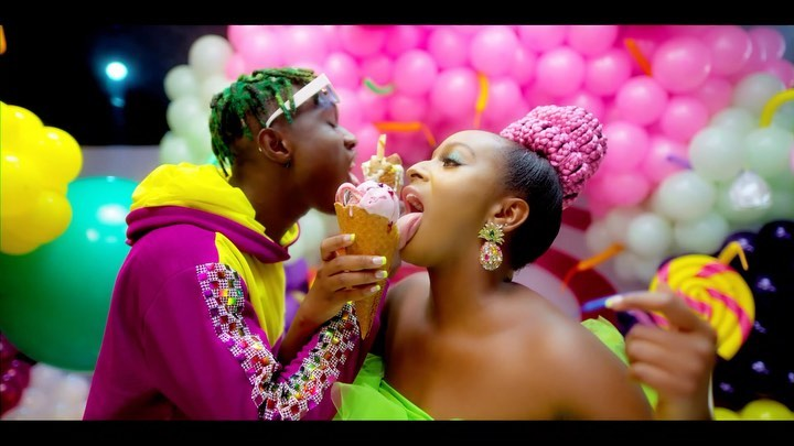"Watch the Official Video for DJ Cuppy & Zlatan's ""Gelato"""