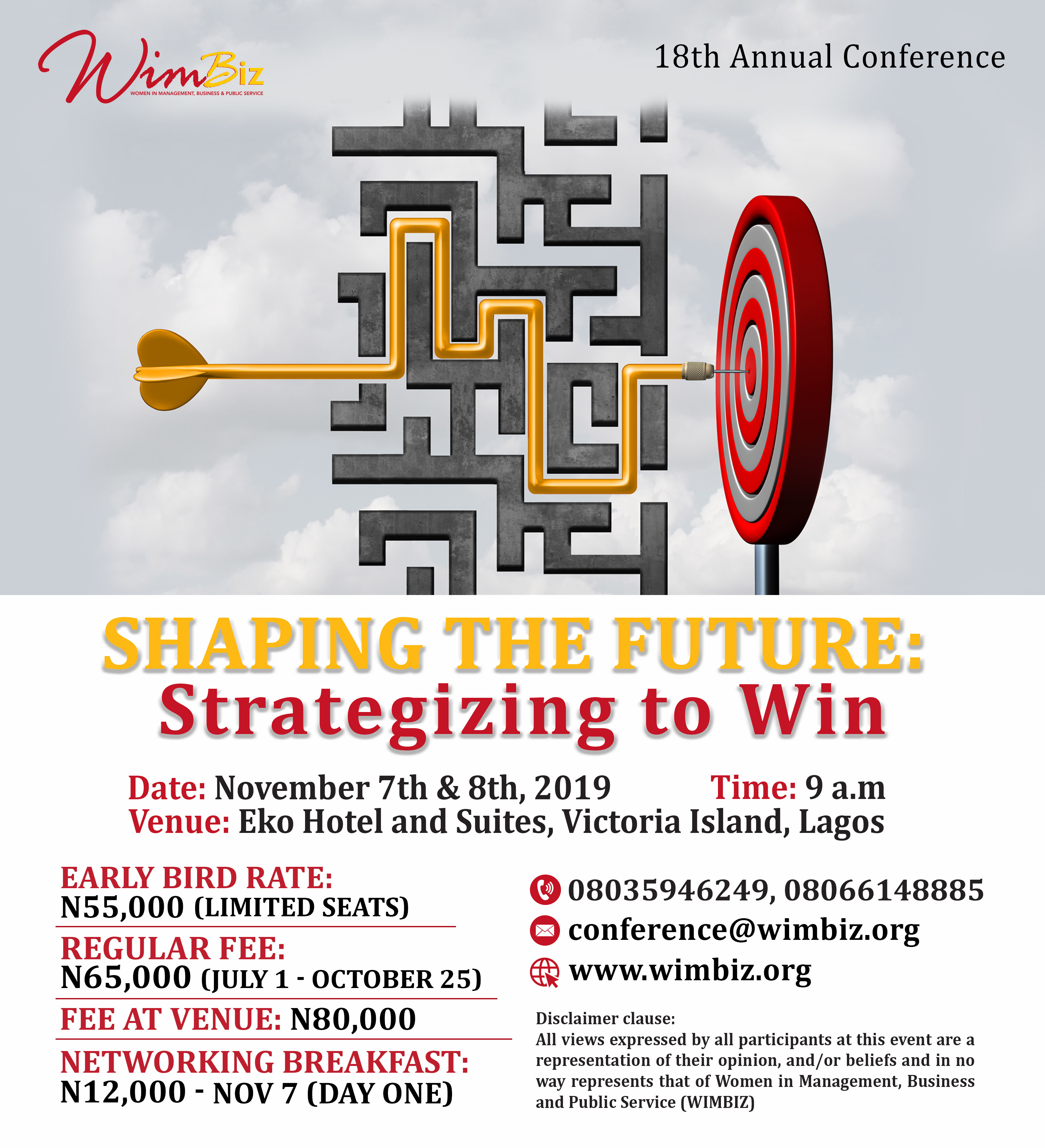 Here are 2 Reasons Why You should Attend the WIMBIZ Annual Conference 2019 | November 7th & 8th