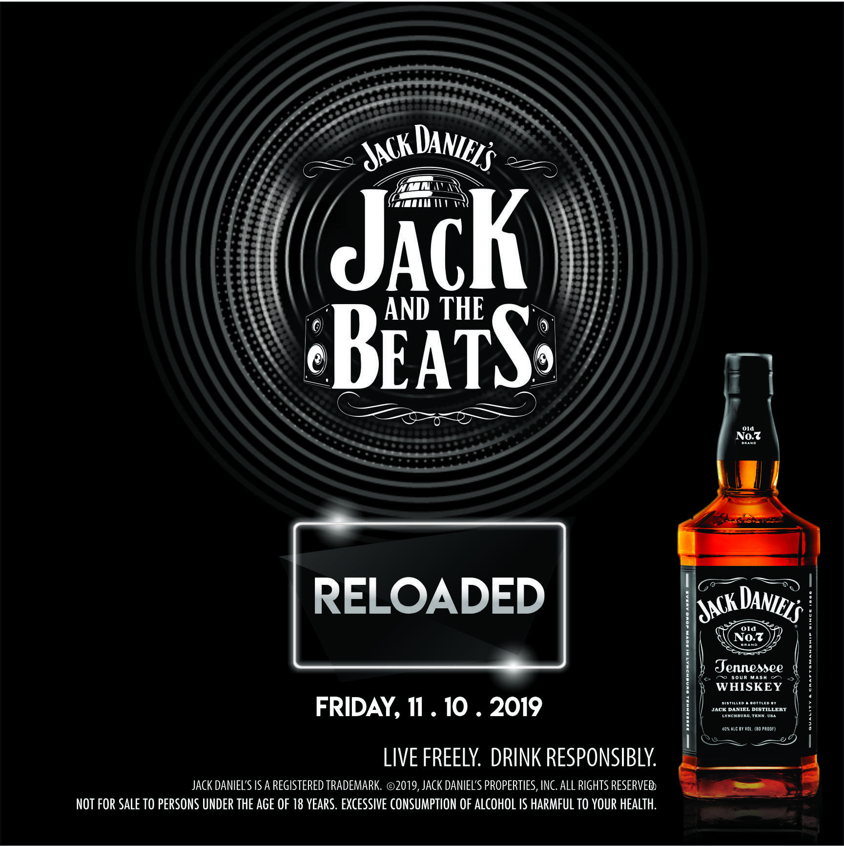 Network & Enjoy Live Music at Jack and The Beats Reloaded | October 11th