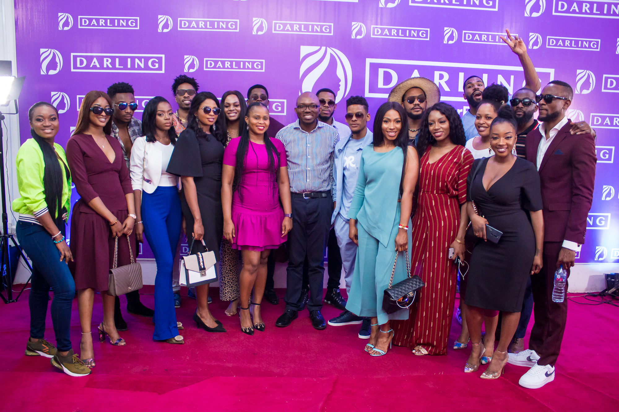 #BBNaija Housemates pay Courtesy Visit to Darling Nigeria + We've got all the photos