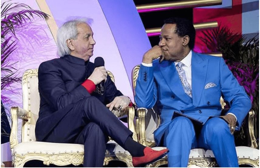 Pastor Benny Hinn Likens Pastor Chris'  Miracles to Those in the Book Of Acts