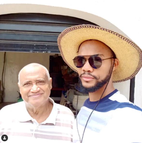 #BBNaija 2019 Housemate Joe Abdallah Loses Dad 💔