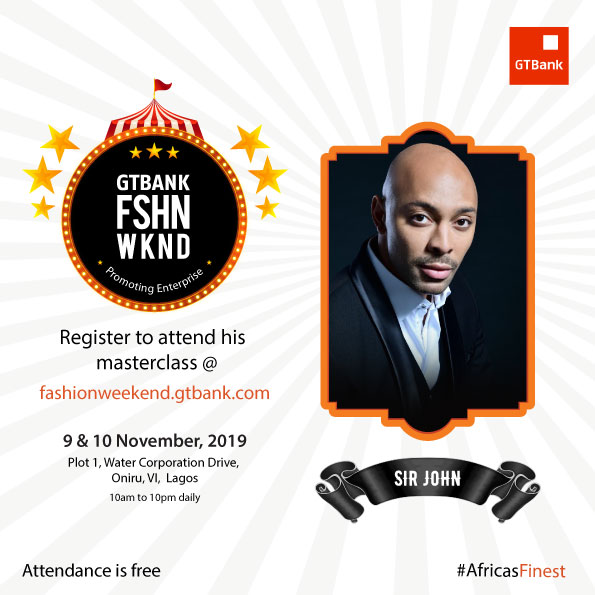 From Fashion to Beauty & Hair-styling Icons! Meet the Masterclass Facilitators for GTBank Fashion Weekend | Nov 11th