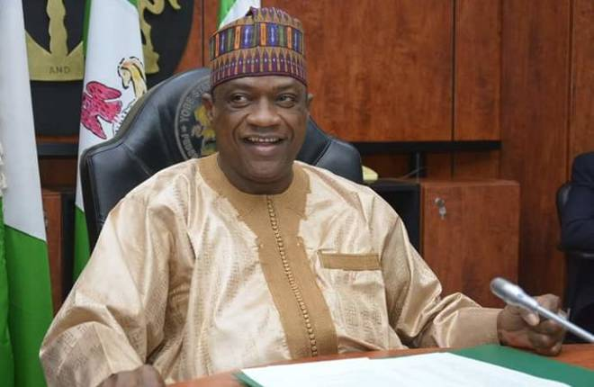 Yobe State Governor Mai Mala Buni