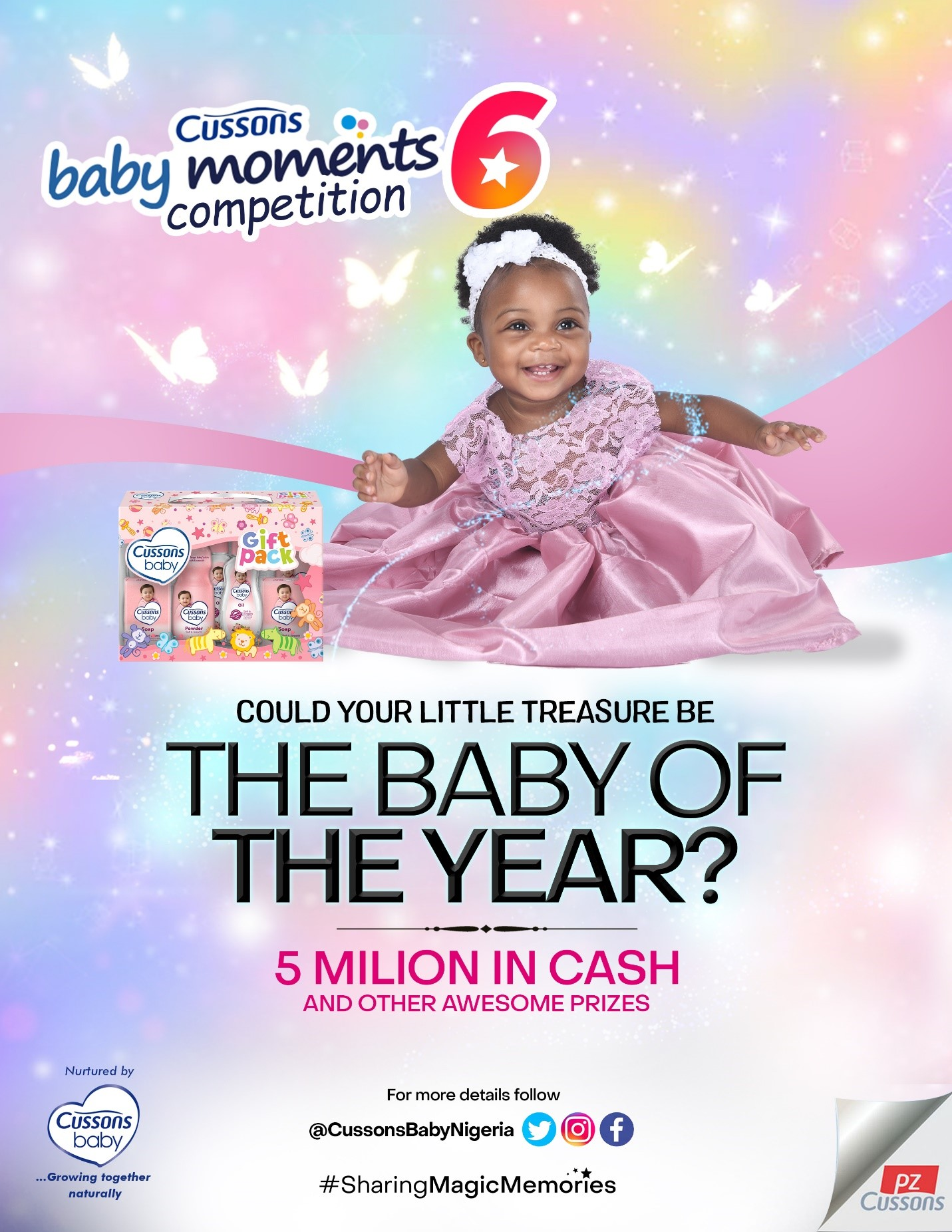 Cussons Baby Moments 6