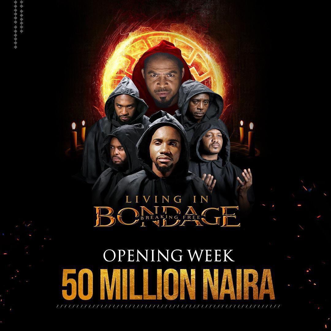 Living In Bondage (The Sequel) hits Major Record, Makes N50Million in Opening Week + See Cinema Reviews