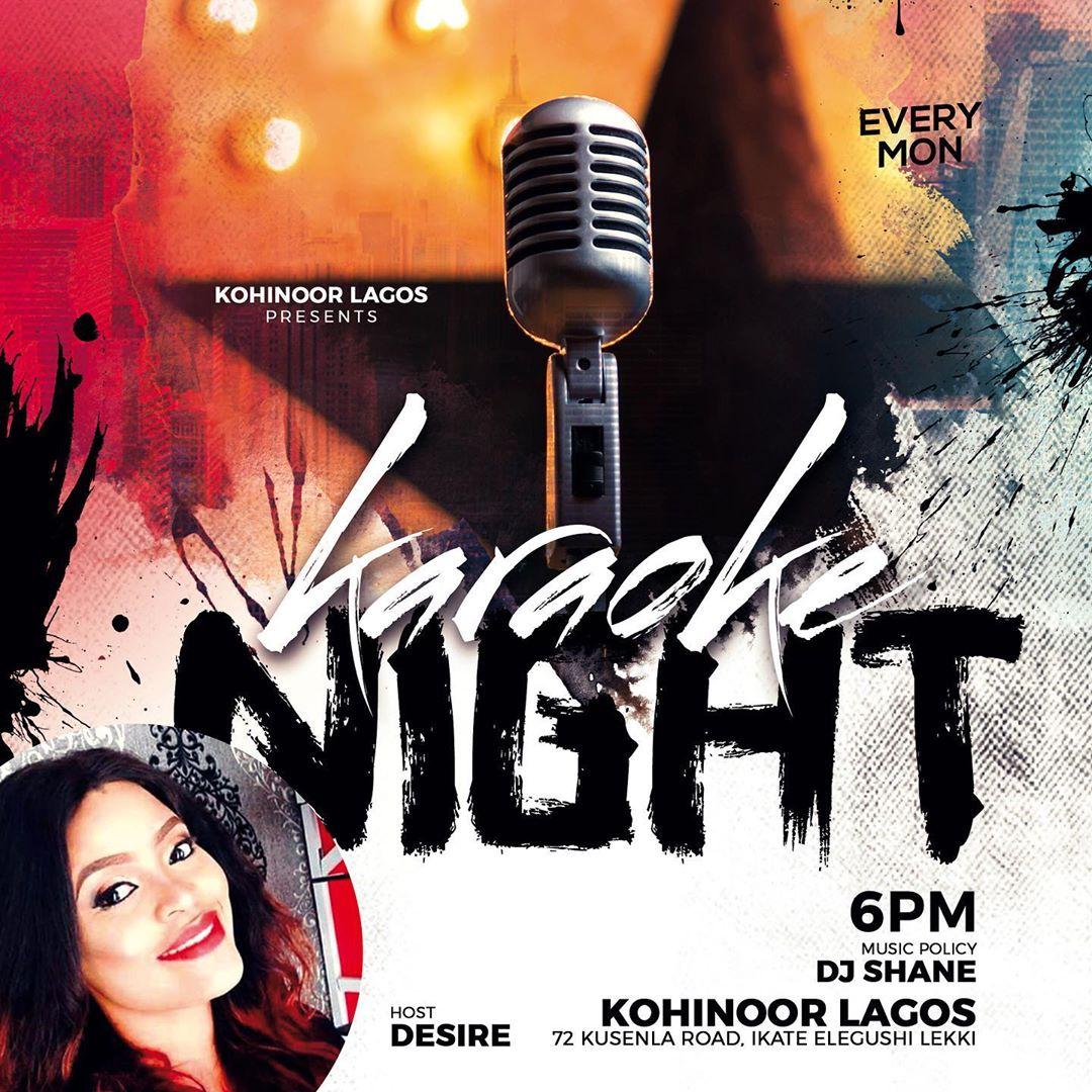 Kohinoor Lagos Karaoke Night