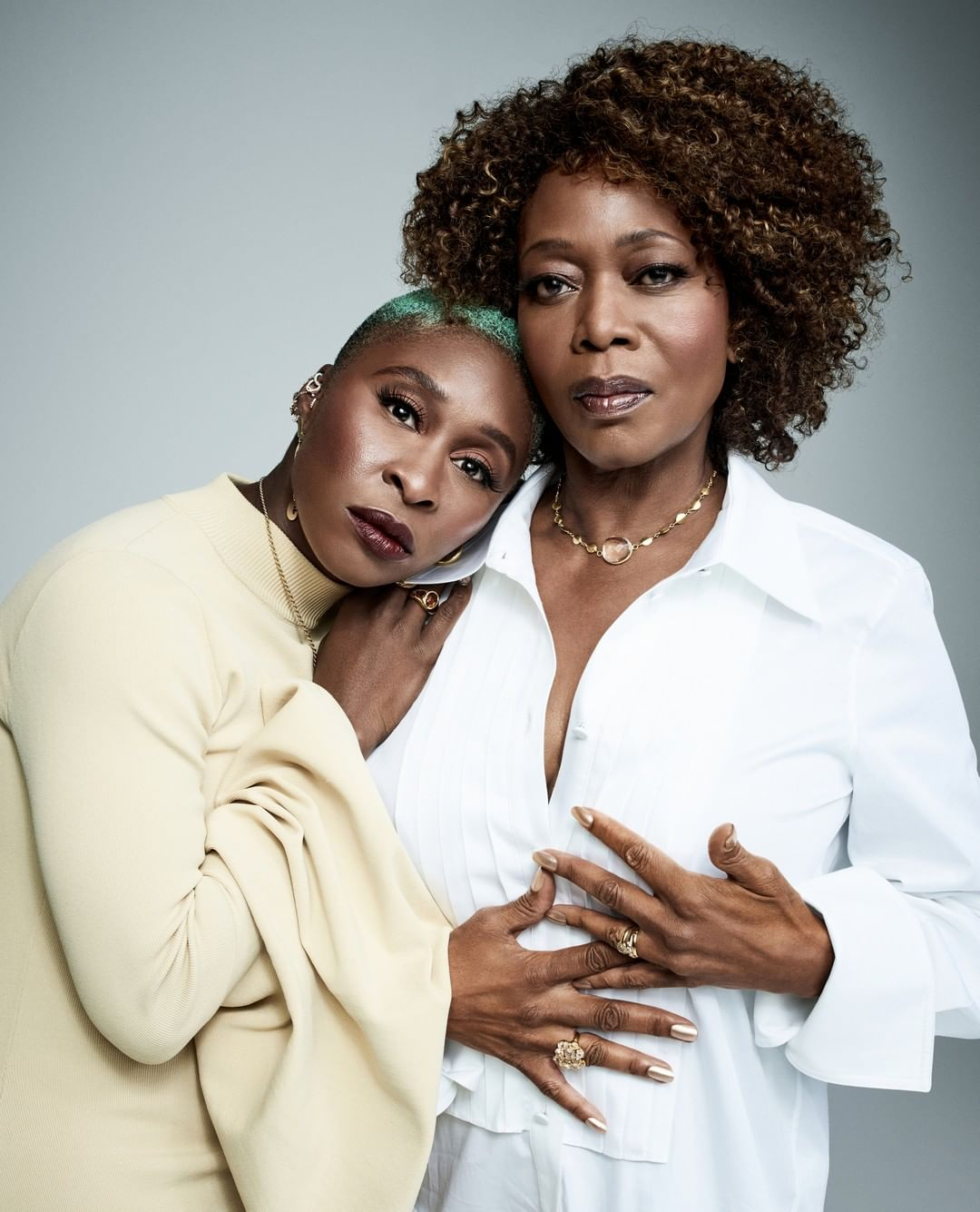 BN TV: Cynthia Erivo & Alfre Woodard discuss Activism, Antagonism & Oscars on Variety's 'Actors on Actors'
