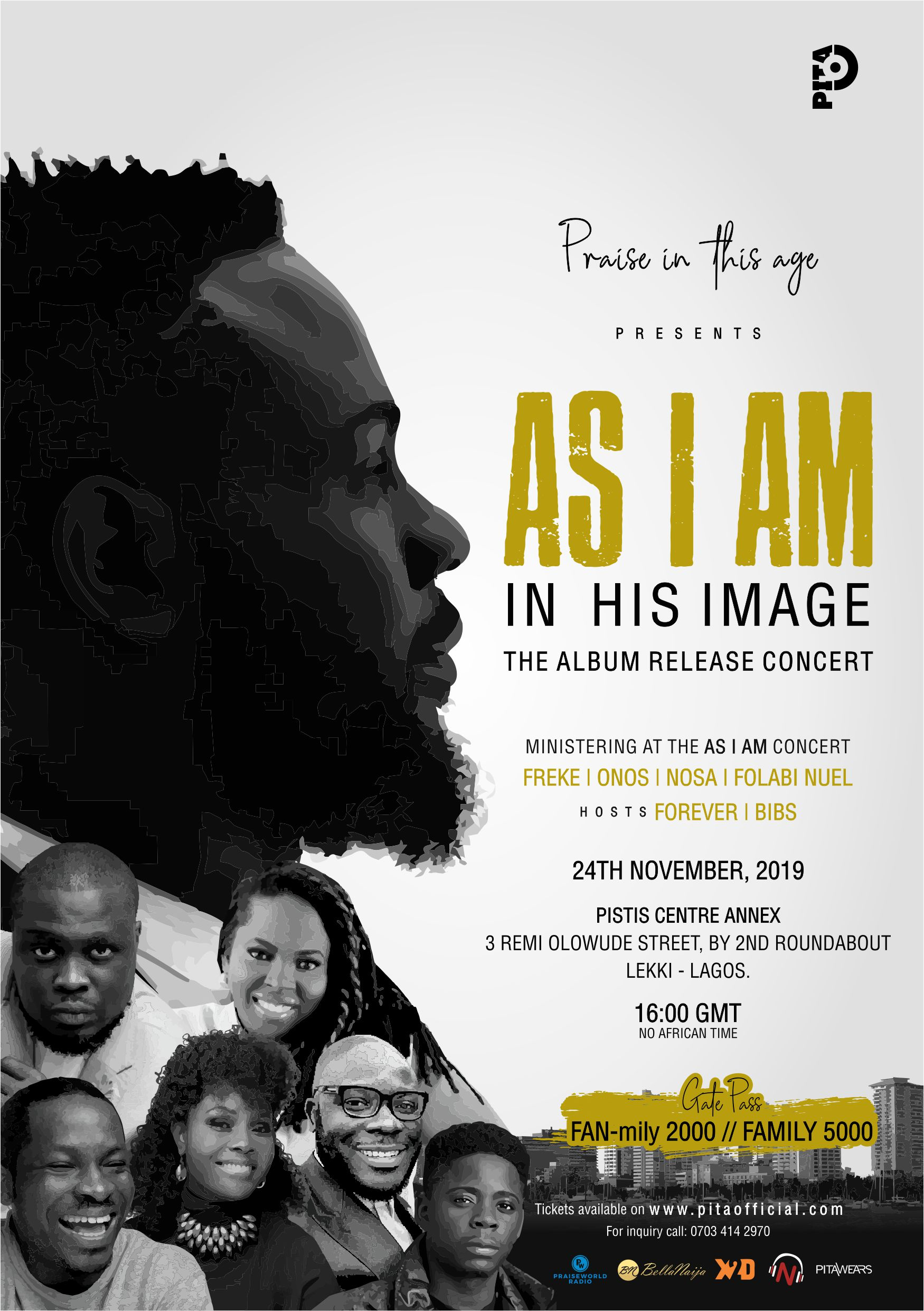 "PITA set to Release 4th Studio Album ""In His Image"" 