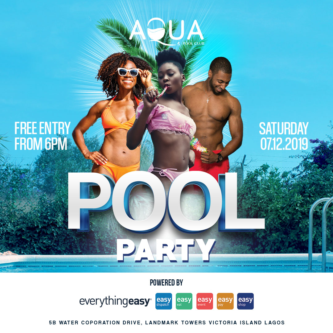 Spice up this December with the Aqua Pool Club Party Experience | December 7th