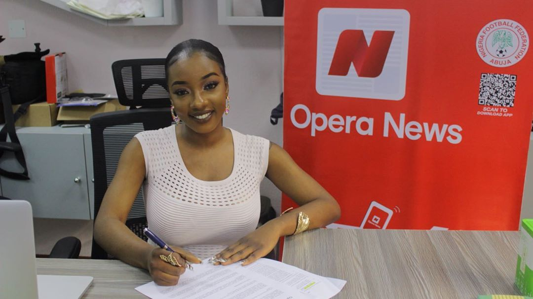 It's Good News for #BBNaija's Avala as she bags Endorsement Deal with Opera News