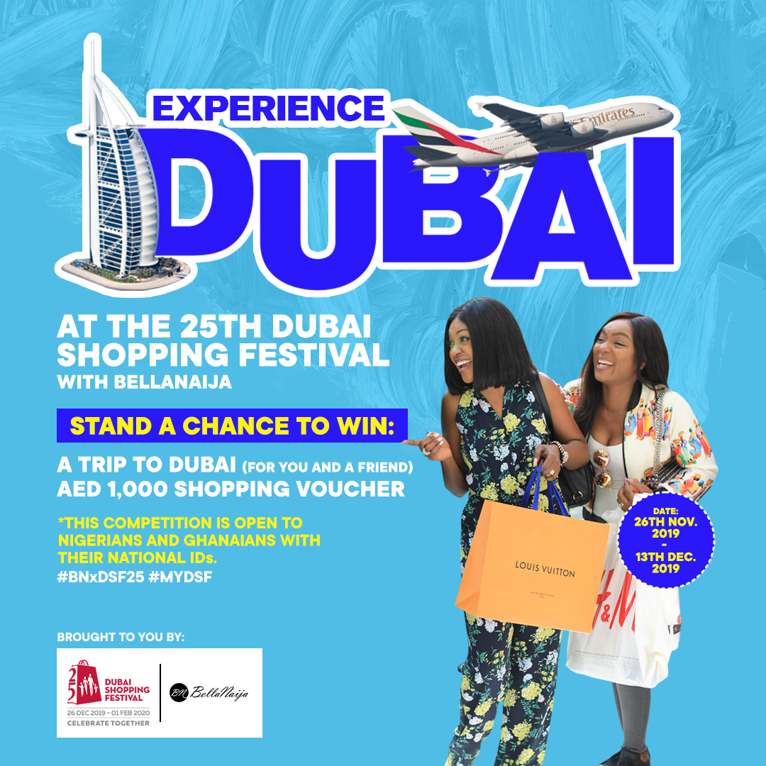 This is one Opportunity to Win TWO Flight Tickets, Accommodation + AED 1,000 Shopping Voucher for Dubai Shopping Festival | FIND OUT HOW